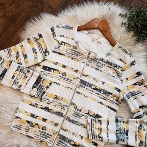 Anthropologie Sweaters - Moth Anthropologie Array Zip Front Cardigan